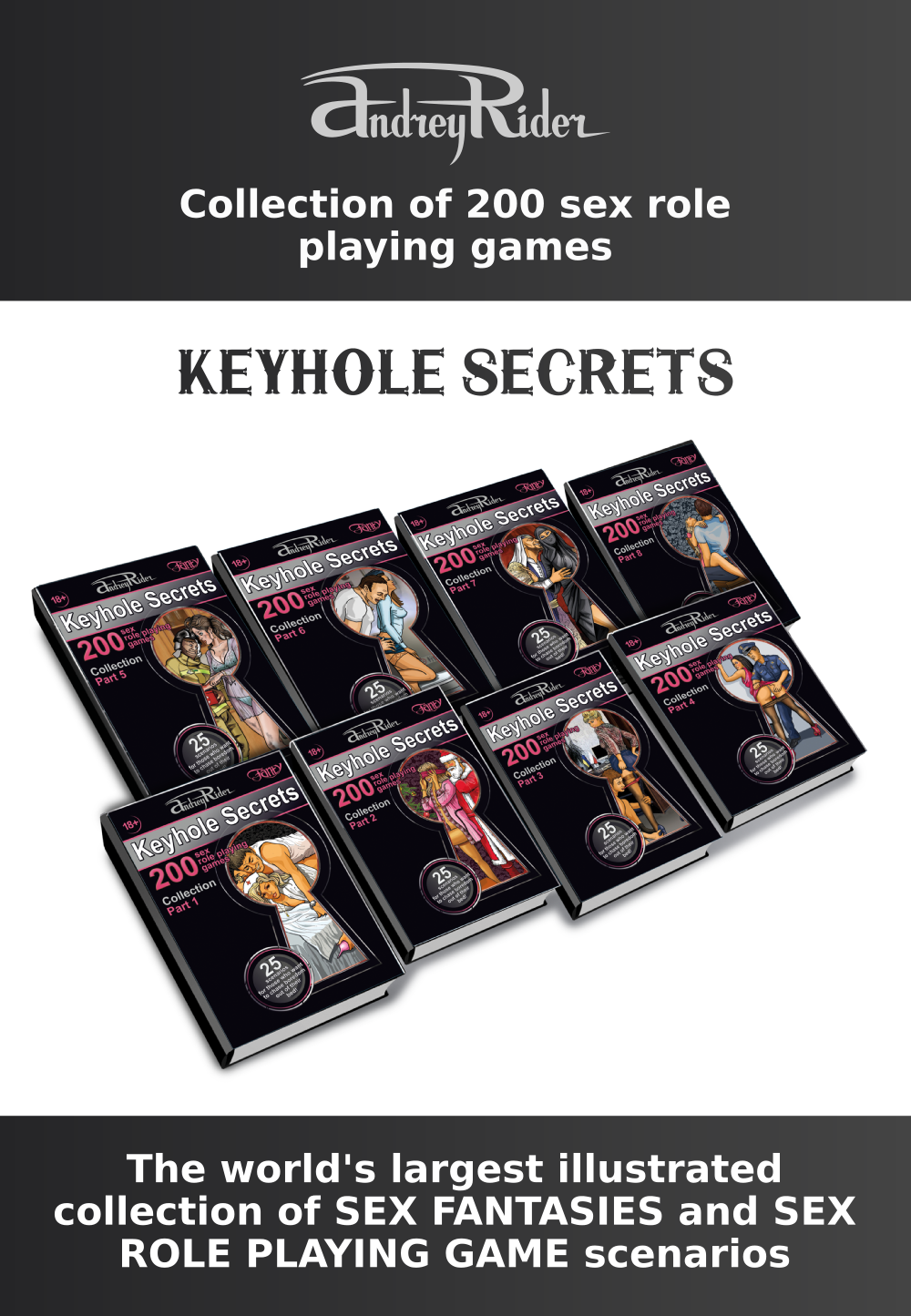 "Collection of Sex Role Playing Games. ""Keyhole Secrets"""