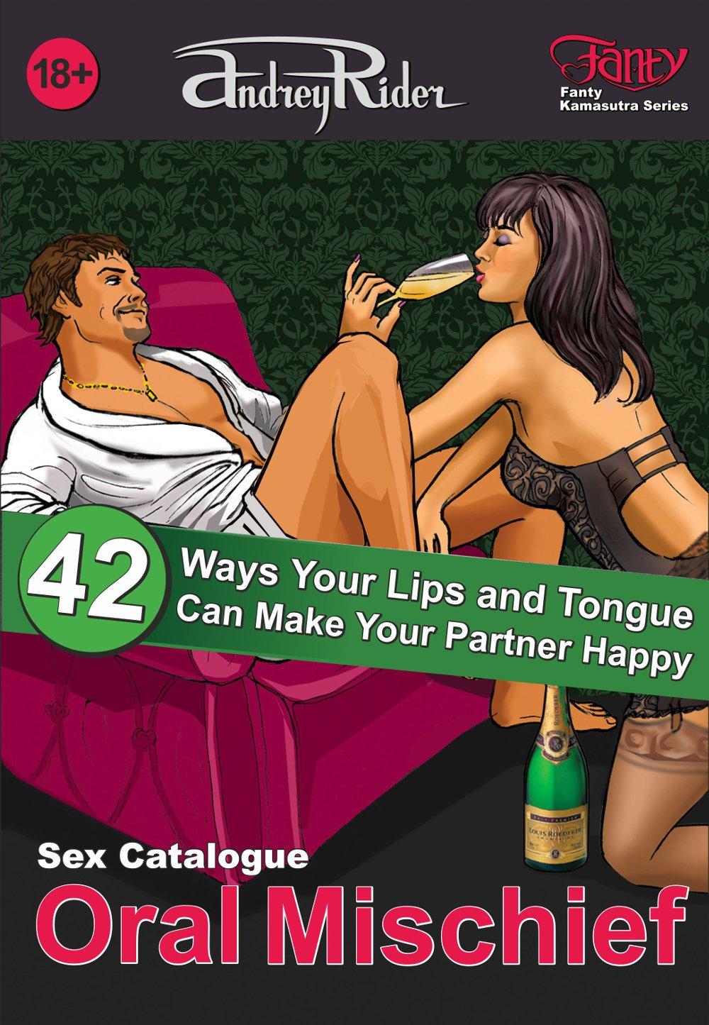 """Oral Mischief"" Sex Positions Catalogue. """